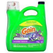 Gain Aroma Boost Liquid Laundry Detergent, Lavender Scent
