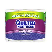 Quilted Northern Bathroom Tissue Ultra Plush Unscented - 9 CT