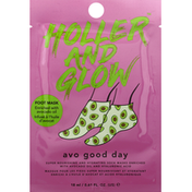 Holler and Glow Foot Mask, Avo Good Day