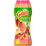 Gain Fireworks Tropical Sunrise In-Wash Scent Booster