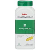 Hy-Vee Healthmarket, E 450 Mg (1000 Iu) Antioxidant Support Vitamin Supplement Softgels