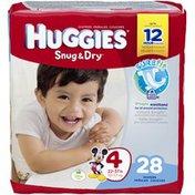 Huggies Snug & Dry Snug and Dry Disney Mickey Mouse Jumbo Diapers Size 4 (23-37 lb)