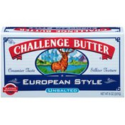 Challenge European Style Unsalted Butter