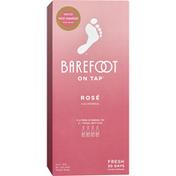 Barefoot On Tap Rose Wine Box Wine