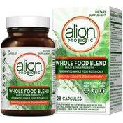 Align Whole Food Blend Multi-Strain Probiotic Supplement