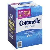 Cottonelle Cleaning Cloths, Flushable, Mega Value Pack