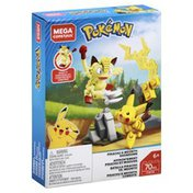 Mega Construx Toy, Pikachu & Meowth Showdown