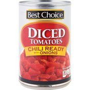 Best Choice Chili Ready With Onions Diced Tomatoes