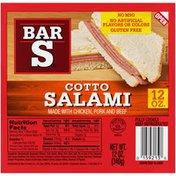 Bar-S Cotto Salami