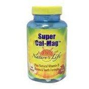 Nature's Life Super Calcium & Magnesium Tablets