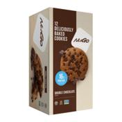 NuGo Double Chocolate, Vegan, Gluten Free, High Protein Cookie