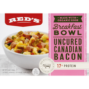 Reds Breakfast Bowl, Canadian Bacon, Uncured