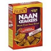 Suzie's Crackers, Naan, Curry & Hot Peppers