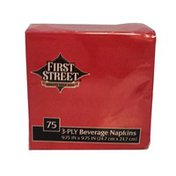 First Street Fs/Artstyle Classic Red Napkin 3 Ply 10x10