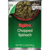 Hy-Vee Spinach, Chopped