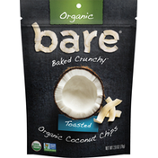 Bare Coconut Chips, Organic, Toasted