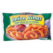 Best Choice Onion Rings Made From Diced Onions