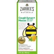 Zarbee's Naturals Children's Cough Syrup + Mucus with Dark Honey & Ivy Leaf