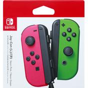 Nintendo Switch Joy-Con (L)/(R), Neon Pink/Neon Green