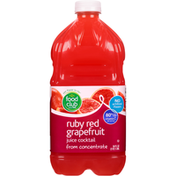 Food Club Ruby Red Grapefruit Juice Cocktail From Concentrate