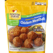 Foster Farms Chicken Meatballs, Gluten Free, Parmesan