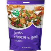 Food Club Jumbo Cheese & Garlic Croutons