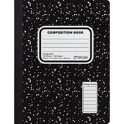 Top Flight Composition Book, College Rule, 100 Sheets