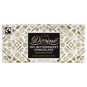 Divine Baking Bar, 70% Bittersweet Chocolate