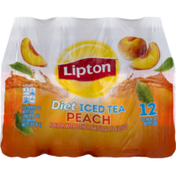 Lipton Diet Peach Iced Tea