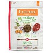 Instinct Be Natural Real Beef & Barley Recipe Dry Dog Food