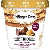 Haagen-Dazs Crispy Trio Layers Dark Chocolate Crunchy Peanut Butter Dessert