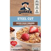 Quaker Brown Sugar Cinnamon Oatmeal