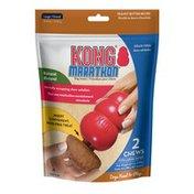 Kong Co. Large Marathon Peanut Butter Treat & Dog Toy