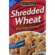Best Choice Cereal, Shredded Wheat, Bite Size