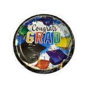 Creative Converting Graduation Celebration Dinner Plates