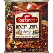 Stockmeyer Soup, Hearty Lentil