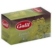 Galil Herbal Tea, Fennel, Caffeine Free, Enveloped Tea Bags