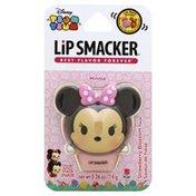 Lip Smacker Lip Balm Pots, Minnie, Strawberry Blossom Flavor