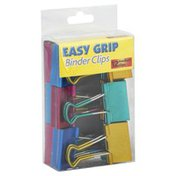 Oic Binder Clips, Easy Grip, Medium