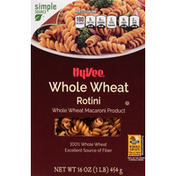 Hy-Vee Rotini, Whole Wheat