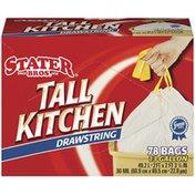 Stater Bros Tall Kitchen Drawstring Bags