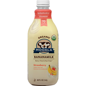 Mooala Bananamilk, Organic, Strawberry