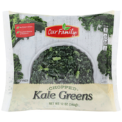 Our Family Chopped Kale Greens