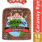Oroweat Organic Artisan-Crafted Caraway Rye Bread