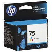 HP Ink Cartridge, Tri-Color 75
