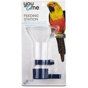 You & Me Medium Wide Mouth Bird Feeding Station