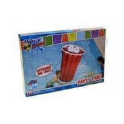 Aqua Leisure Splash Party Time Red Cup Pool Float