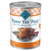 Blue Buffalo Family Favorites Natural Adult Wet Dog Food, Turkey Day Feast