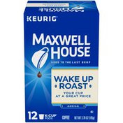 Maxwell House Wakeup Roast Coffee K-Cup Pods
