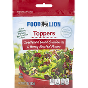 Food Lion Toppers, Sweetened Dried Cranberries & Honey Roasted Pecans